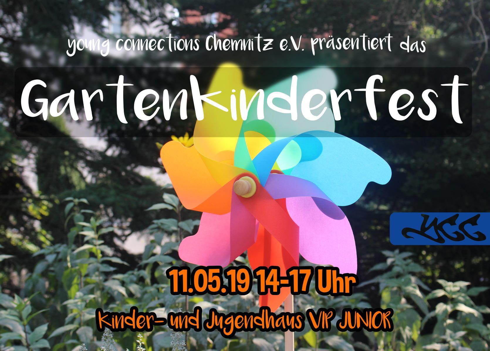Gartenkinderfest flyer mail
